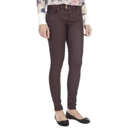 FELISHA BORDEAUX COATED JEANS